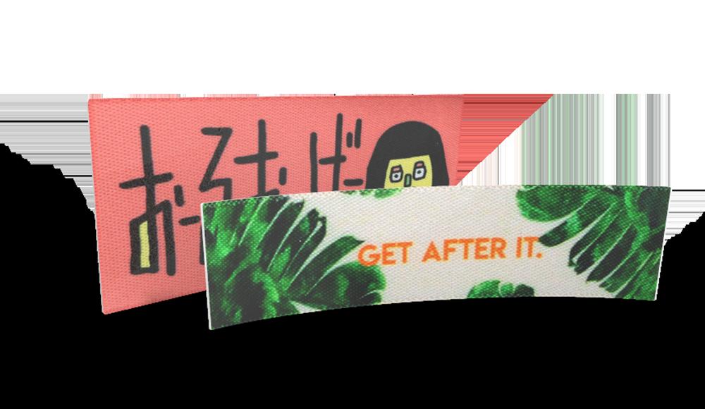 プリントネーム カスタマイズ―オリジナルロゴデザイン
